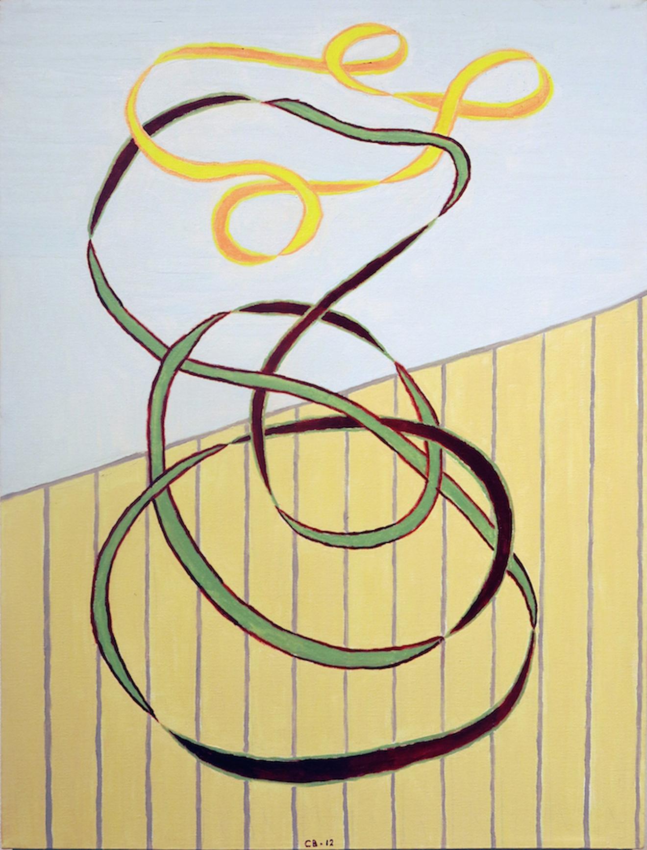 Chuck Boyce, Sandlot Cowgirl, 2014, oil on canvas, 24h x 18w in.