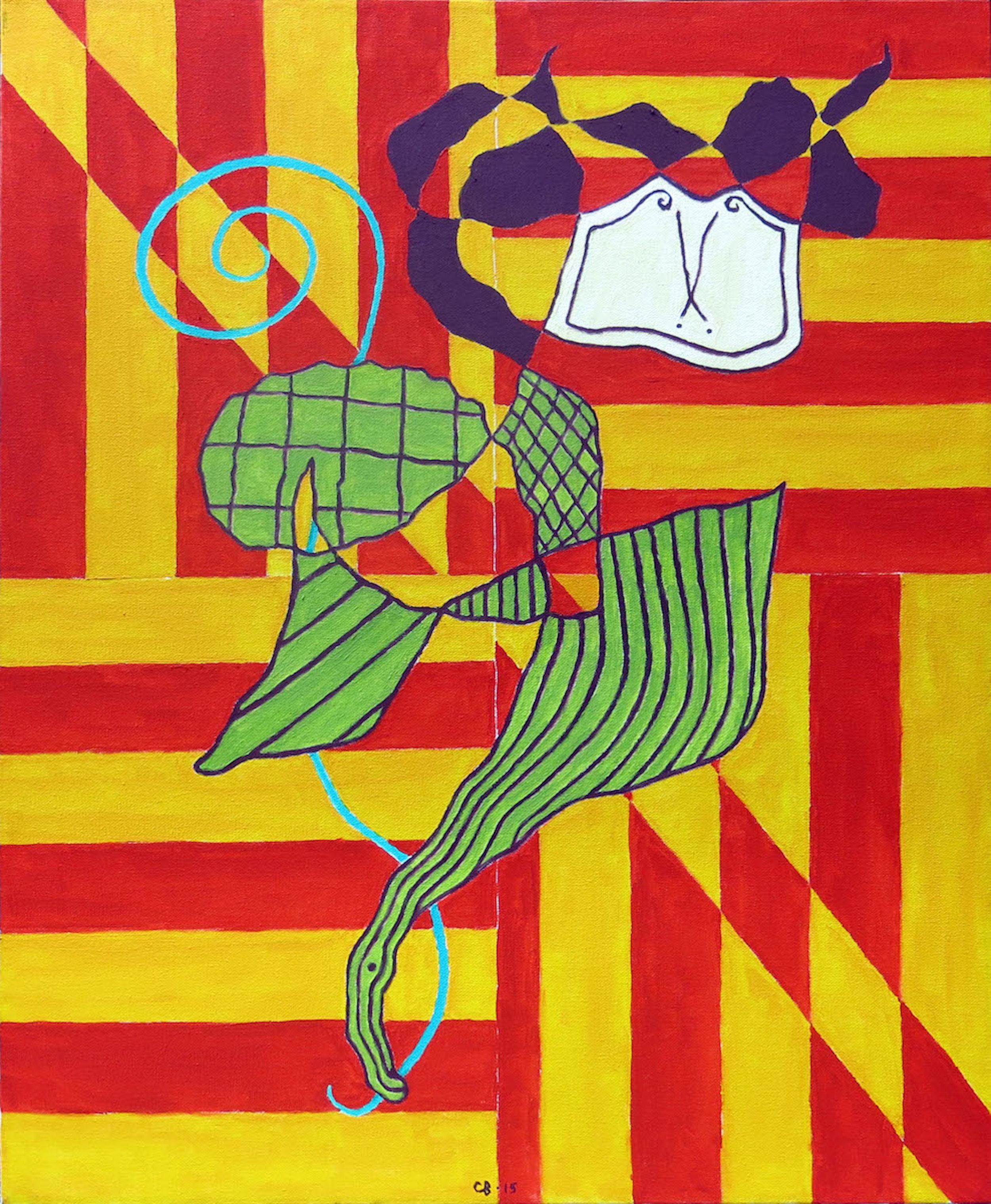 Chuck Boyce, Pilgrim, 2015, oil on canvas, 28h x 22w in.