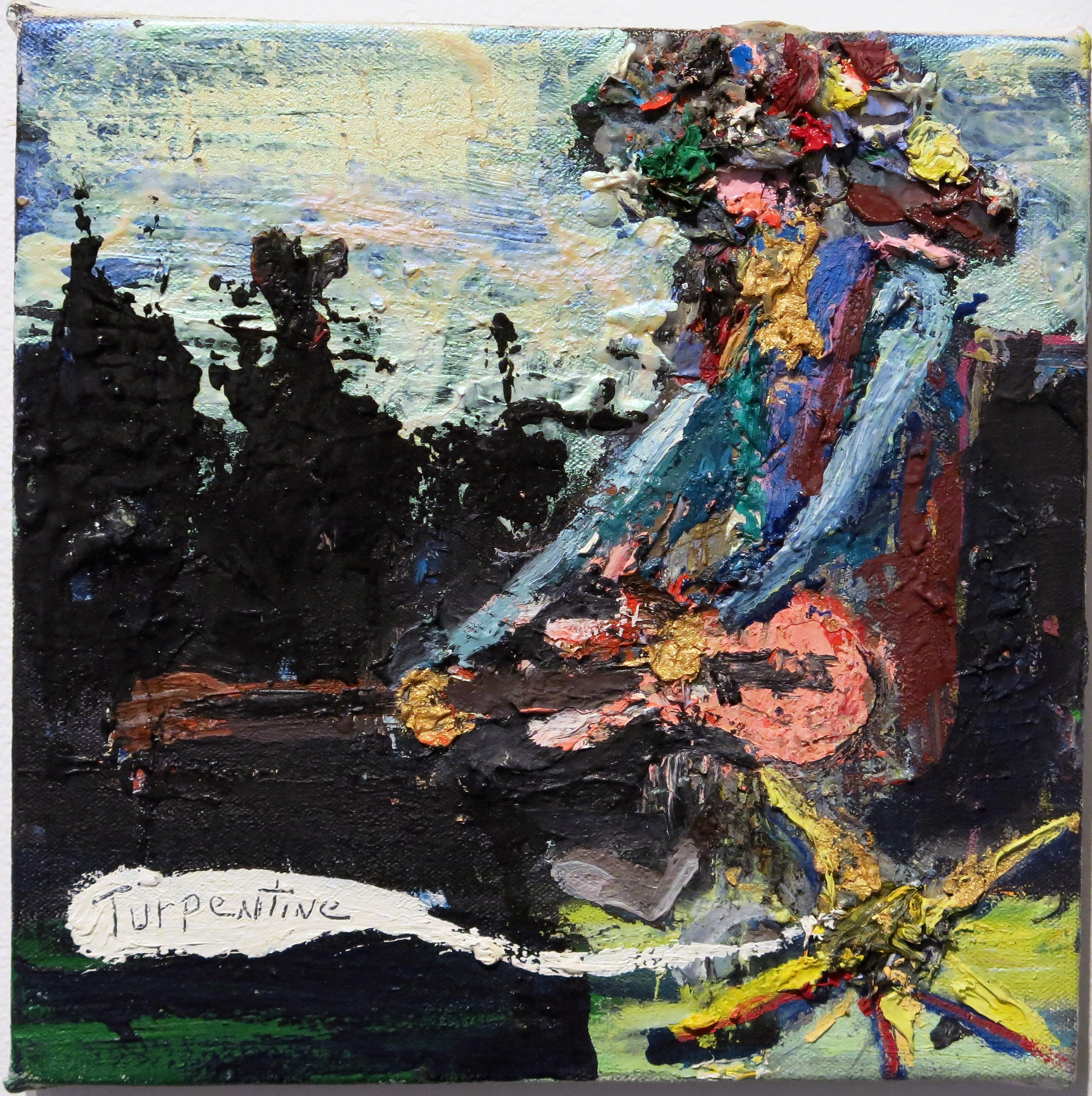 Matt Blackwell, Turpentine , 2009, oil on canvas, 8h x 8w in.