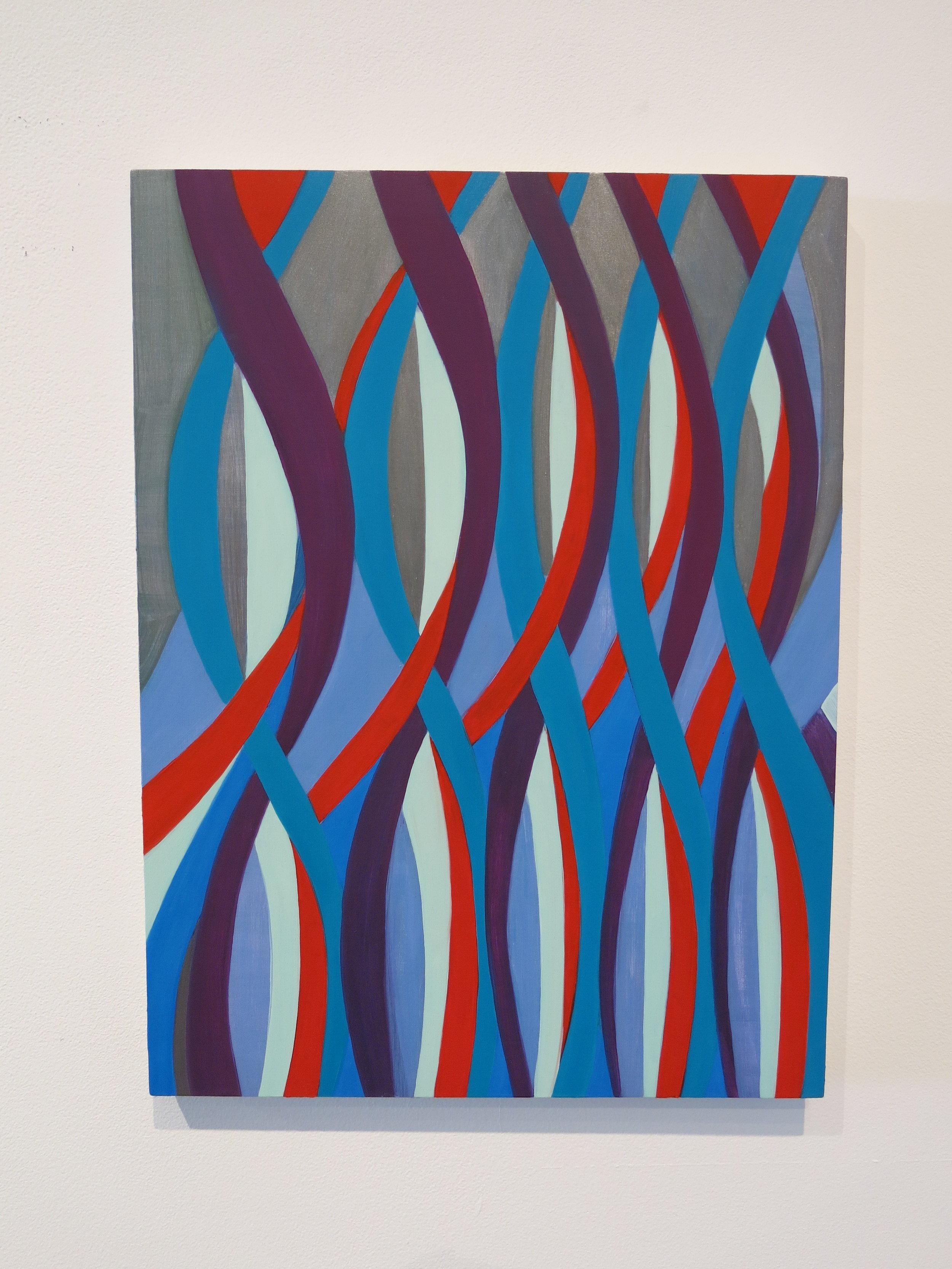 Jenifer Kobylarz, Sounding , 2013, oil on panel, 16h x 12w in.