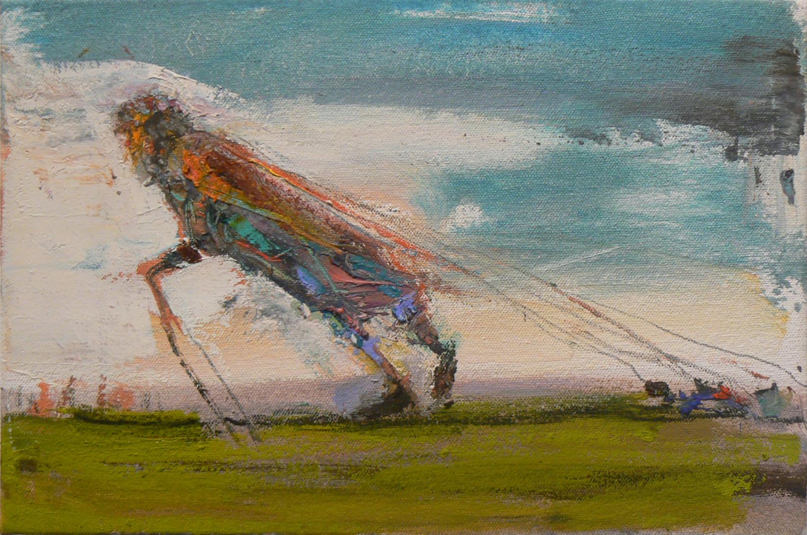 Matt Blackwell, Wayfarers Load , 2013, oil on canvas, 8h x 12w inches