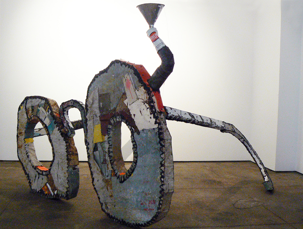 Matt Blackwell, 2012, Old School , Mixed media, 64h x 54w x 74.5d in.