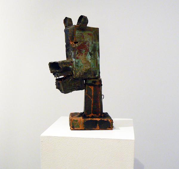 Matt Blackwell, 2005, Bear Head , Mixed media, 17h x 6w x 6.25d in.