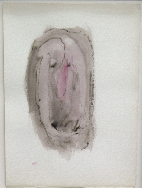 Henri Michaux, 1982, Untitled , Watercolor on paper, 15.5h x 11w in.