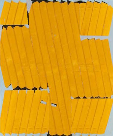 Gary Stephan, Untitled, 2012, acrylic on canvas, 48h x 40w in.