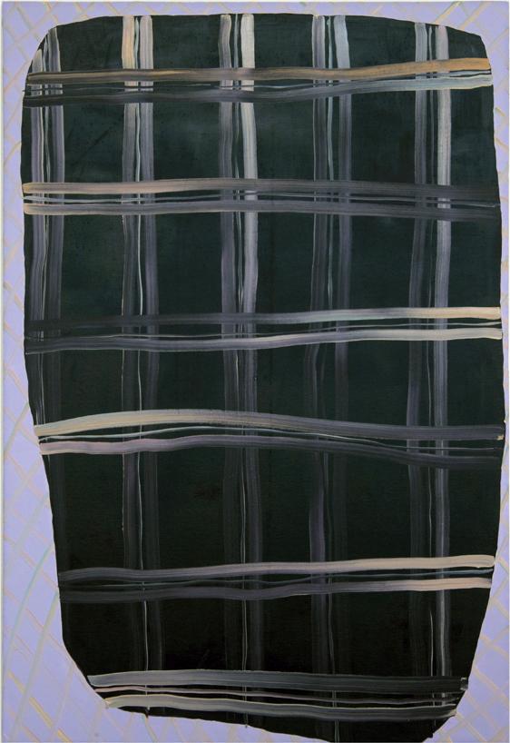 Rachel Malin, Titled, 2012, oil on canvas, 43h x 50w in.