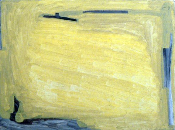 Ian White Williams, Retitled, 2011, oil on linen, 9h x 12w in.