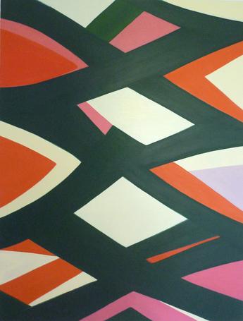 Jenifer Kobylarz, Wander, 2013, oil on linen, 31h x 24w in.
