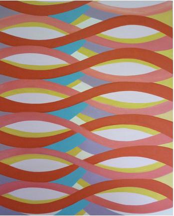 Jenifer Kobylarz, Tangle, 2013, oil on linen, 20h x 16w in.