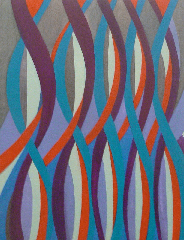 Jenifer Kobylarz, Sounding, 2013, oil on panel, 16h x 12w in.