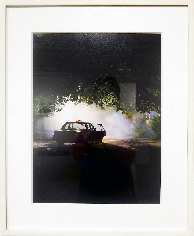 Gregory Crewdson,  Production Still (Maple St. #1) , 2003, digital C-print, 18h x 14w in. Ed. 20