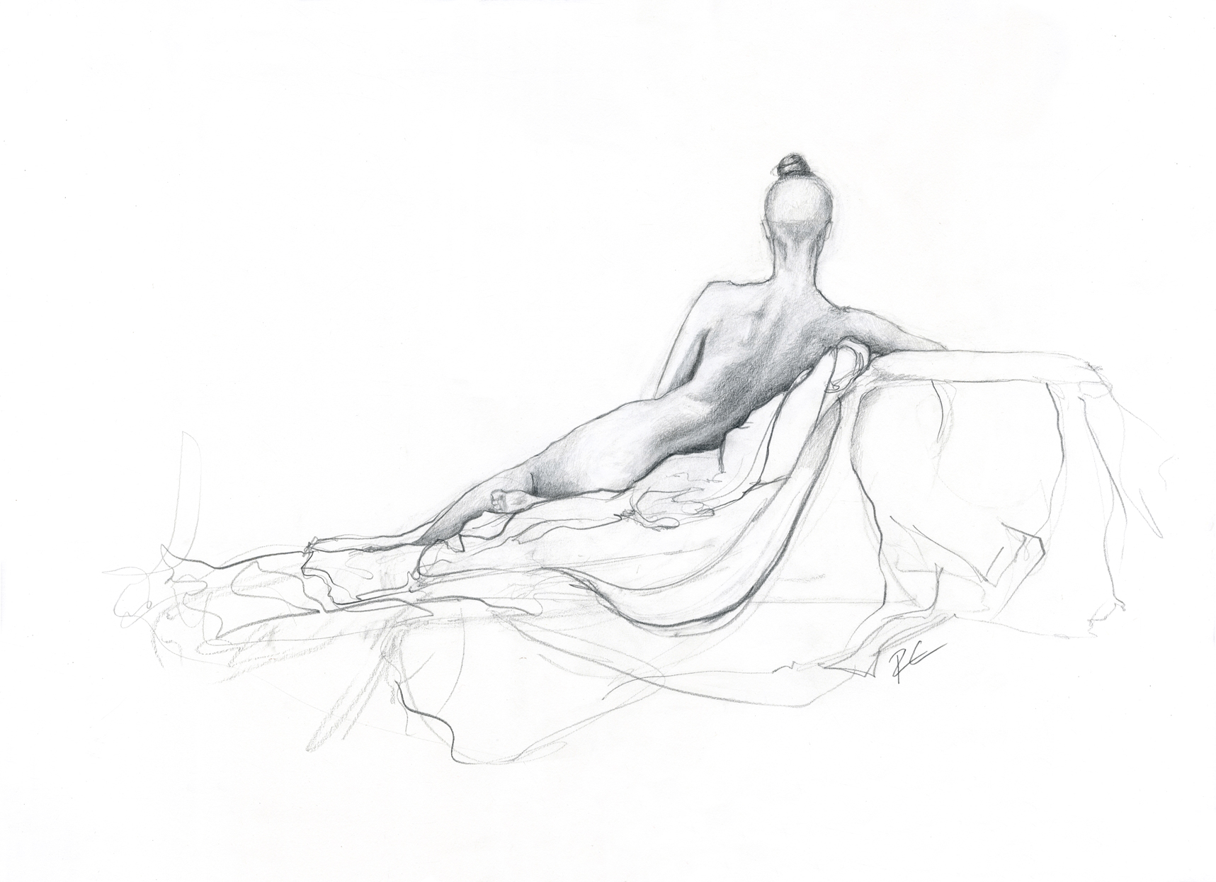 Timed Life Drawing | Graphite