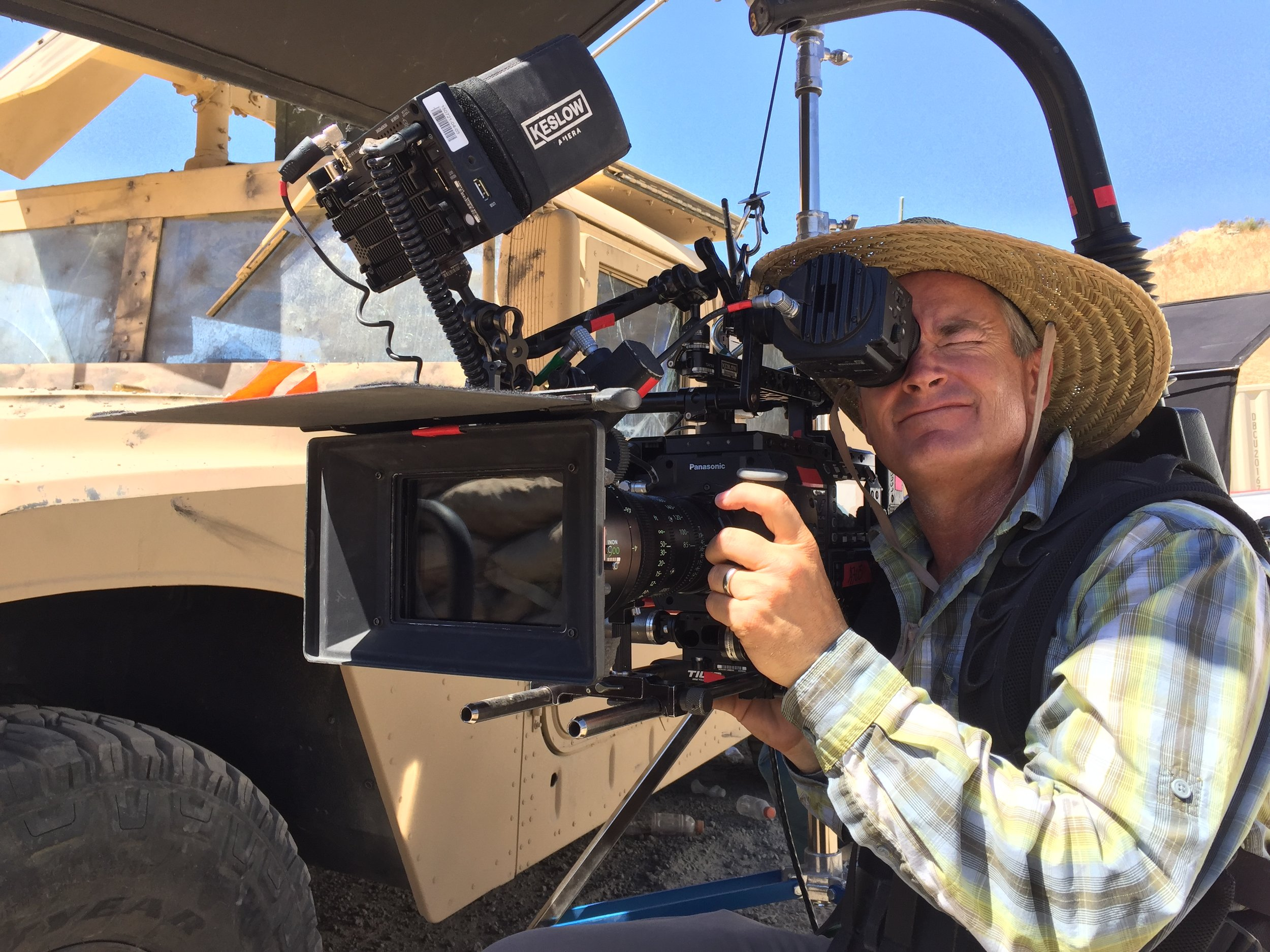 Harris Lines up a shot for Robert Zemeckis' Netflix series  MEDAL OF HONOR .
