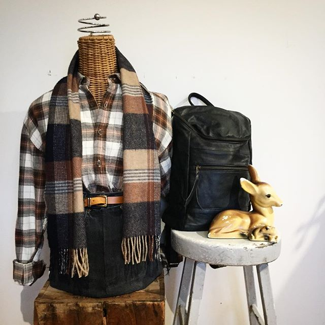 Cozy times. Autumn colors. #upcycled flannels. 🍁