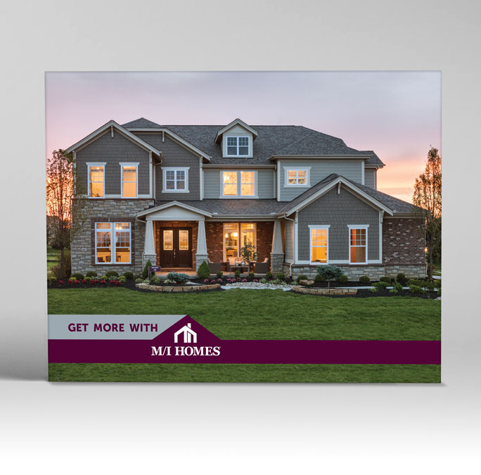 RS Creative&Design_The Cover of a home builder's promotional catalog