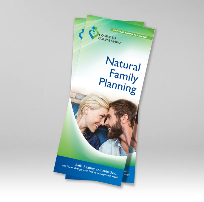 RS Creative&Design_Cover of a tri-fold brochure for Couple to Couple League