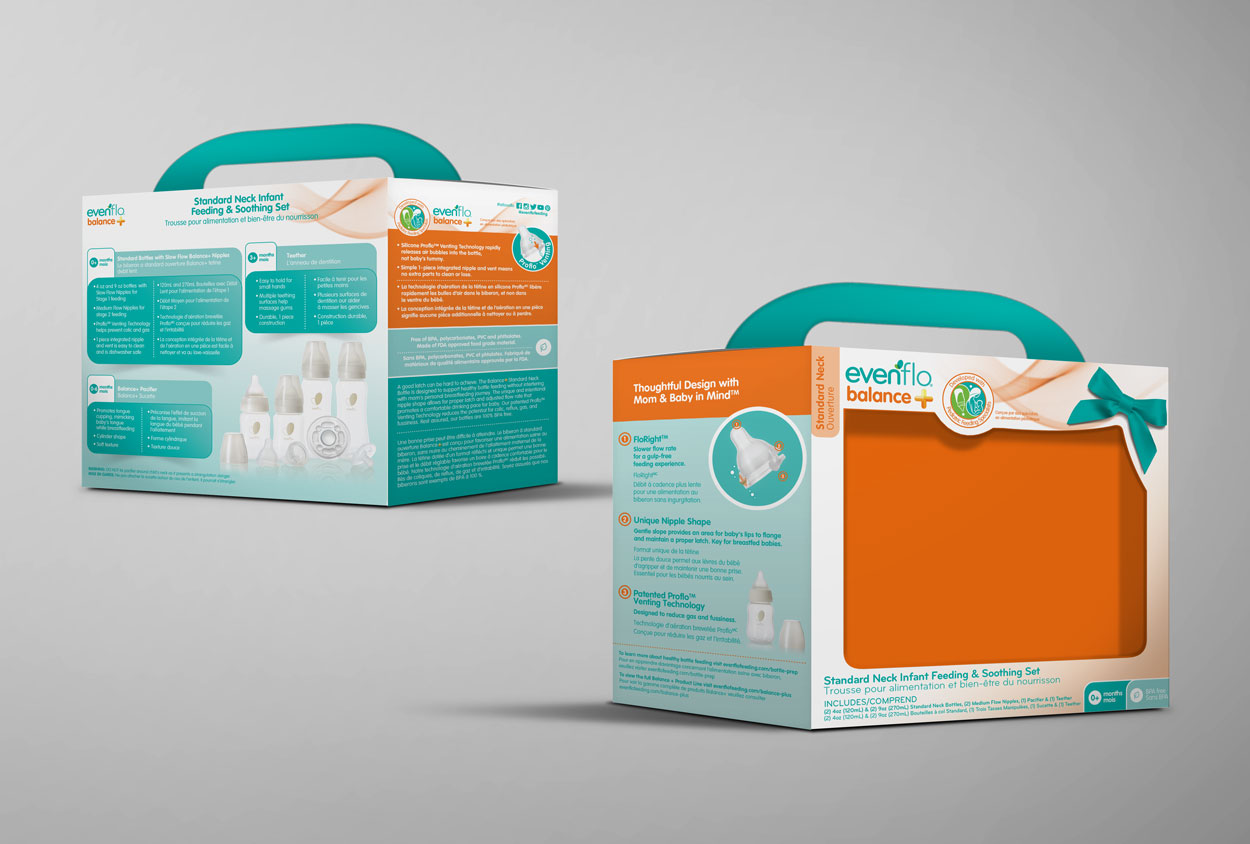 RS Creative&Design_A promotional gift package for Evenflo Feeding
