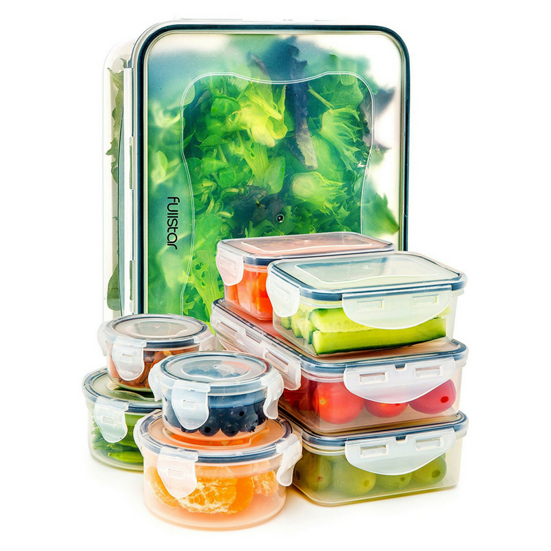 18 Piece Food Storage Containers -