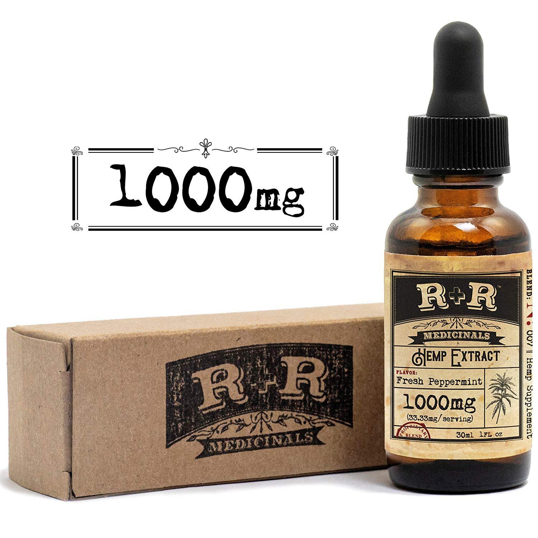 R+R Hemp Oil -