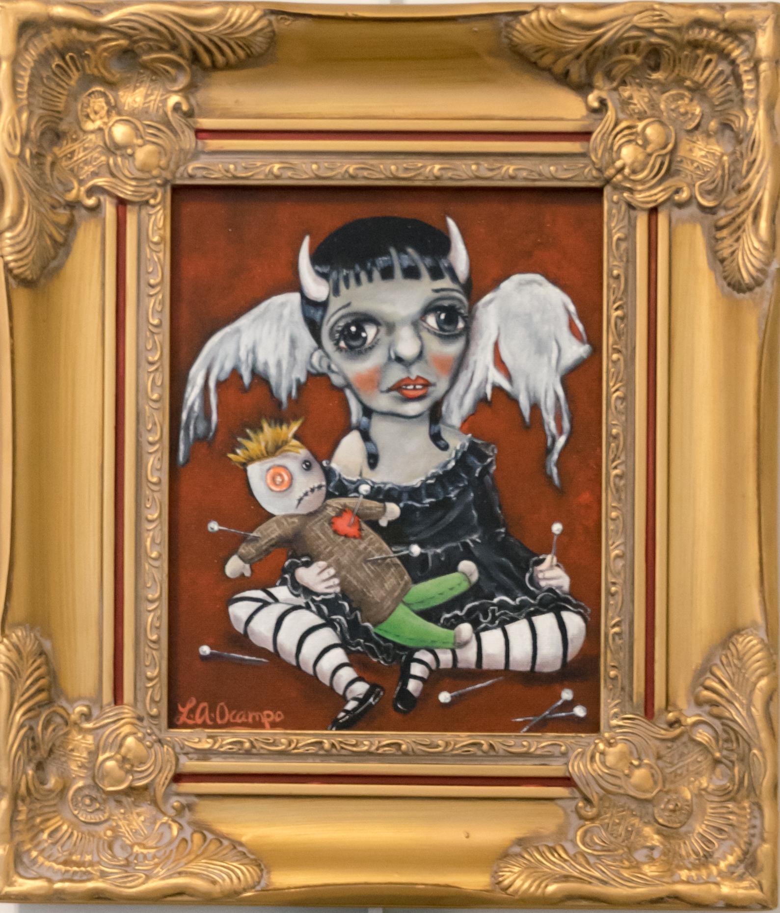 Devilina & Her Doll Doom
