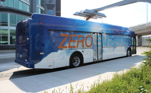TriMet is partnering with Portland General Electric  to integrate five electric buses into its Portland fleet in 2018, with on-route fast-charging capabilities.