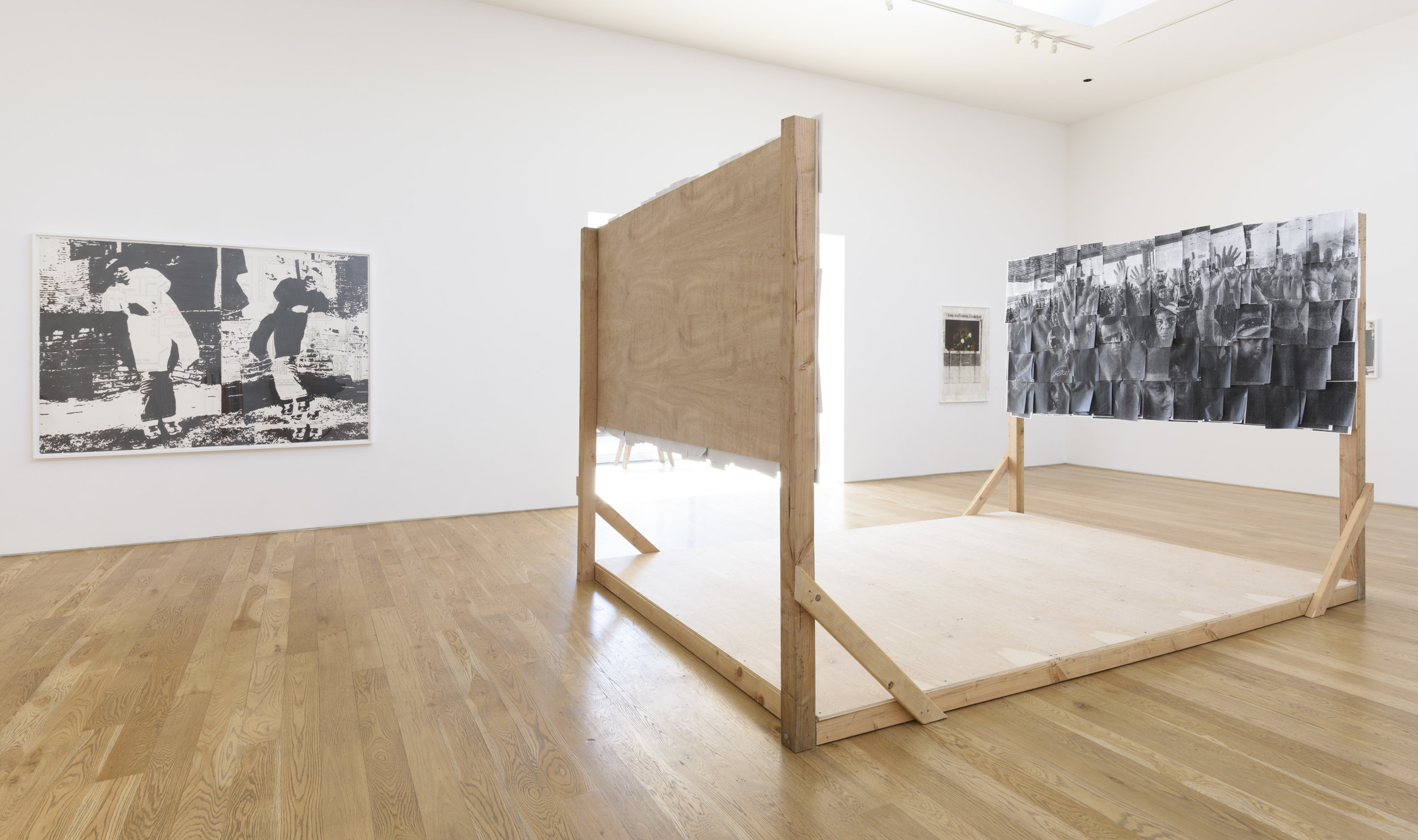 York Chang & Justin Cole  Constituent Parts  Installation View, 2017