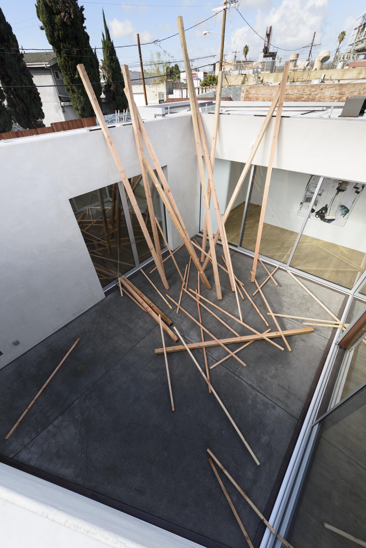 Mie Olise Kjærgaard  Bastard Monuments  Installation View, 2017