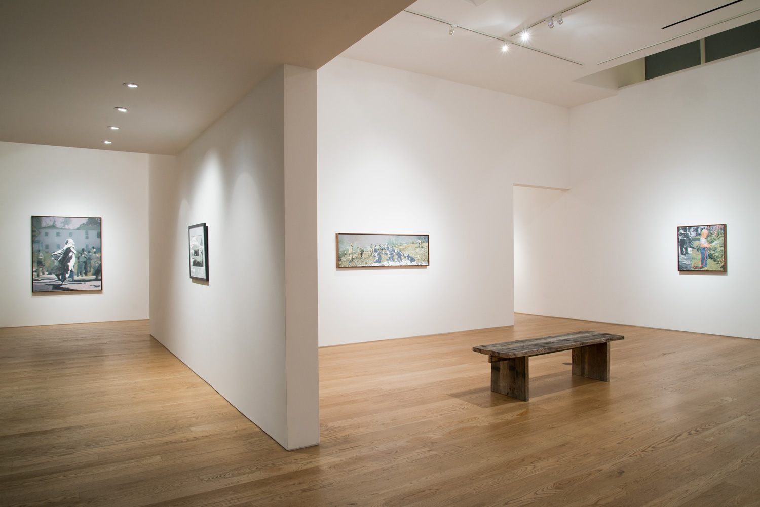 Martin Mull The Edge of Town Installation View, 2015