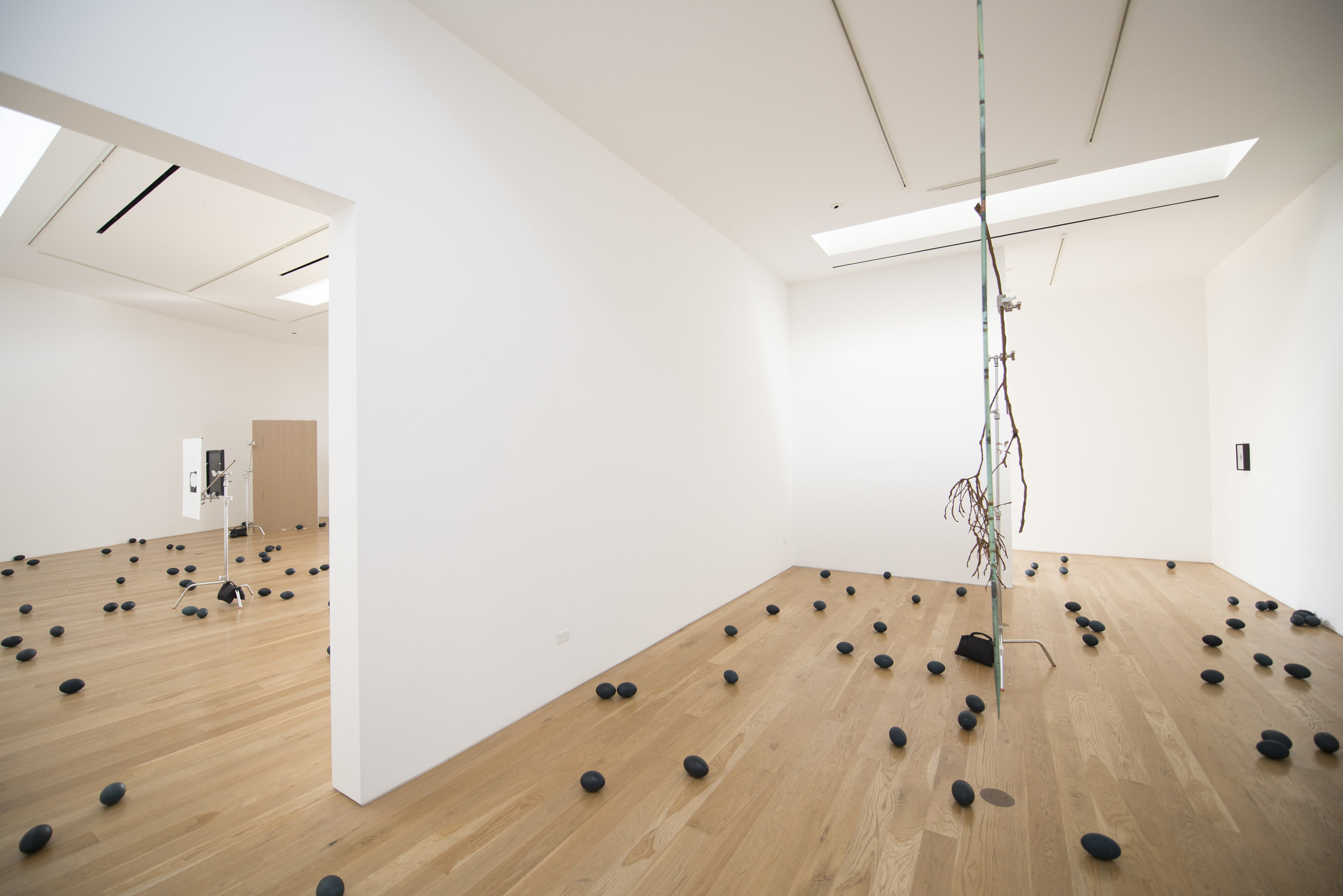 Emilie Halpern and Andrew Cameron  Standard Candles  Installation View, 2014