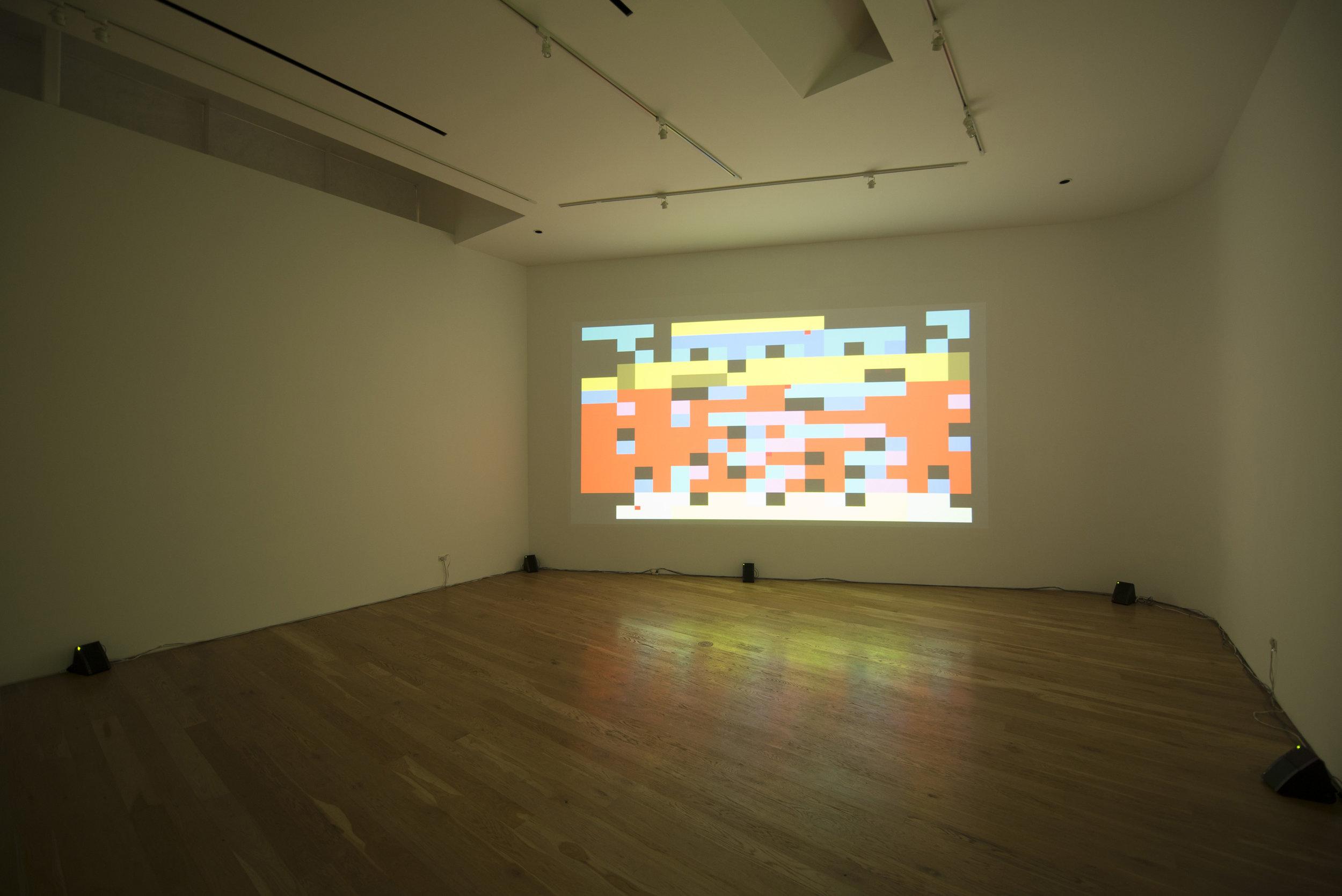 David Galbraith, installation view, 2014.