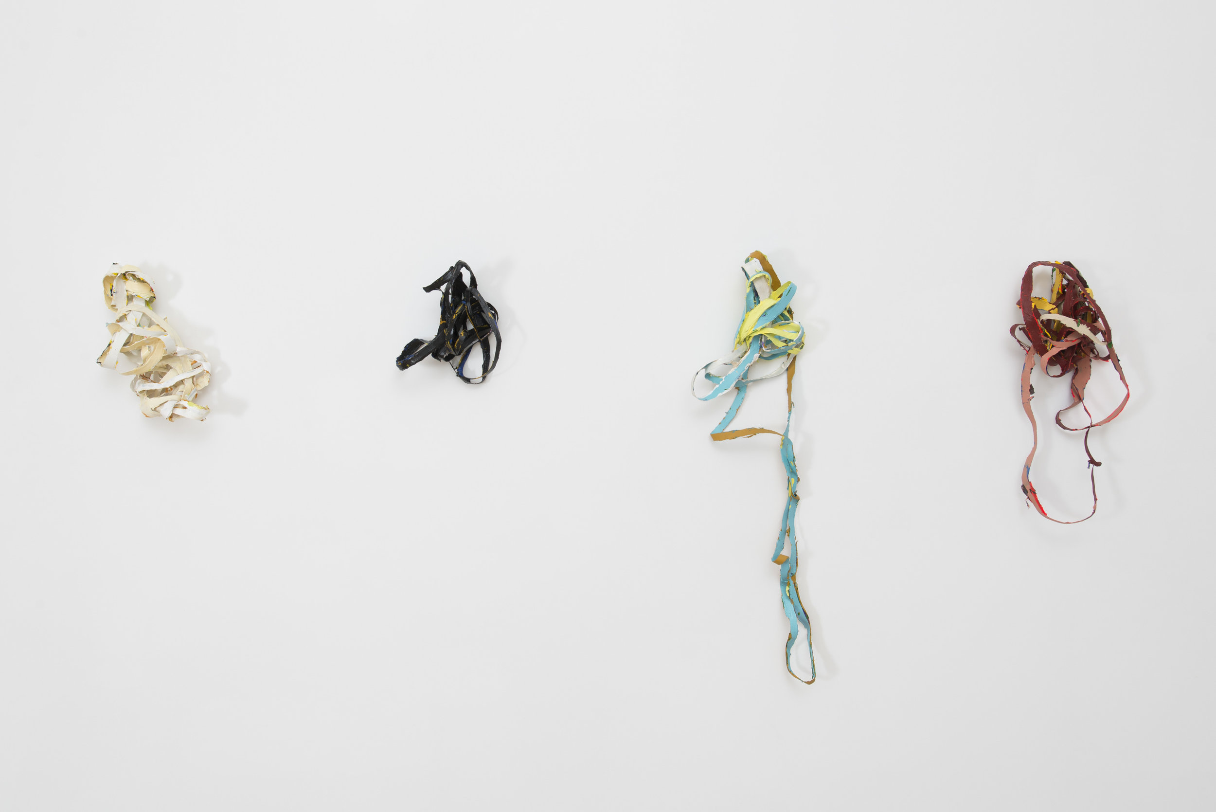 Alison O'Daniel,  Quasi-Closed Captions , installation view, 2013.