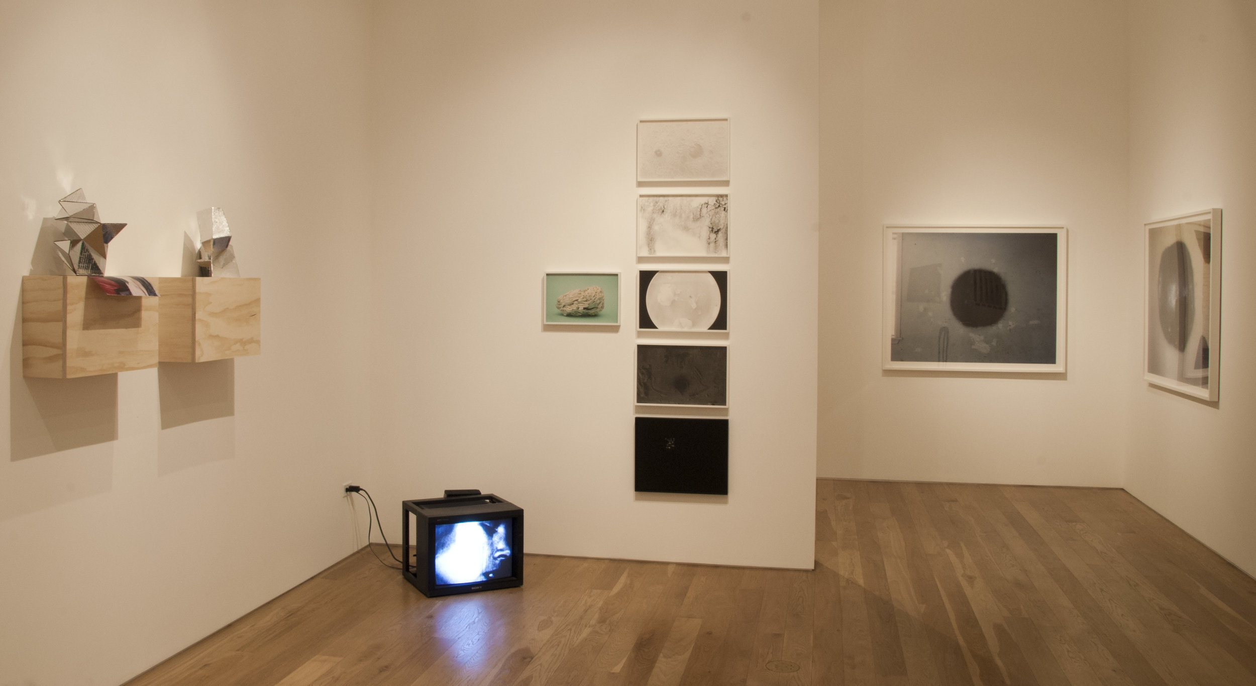 Black Rabbit, White Hole , installation view, 2013.