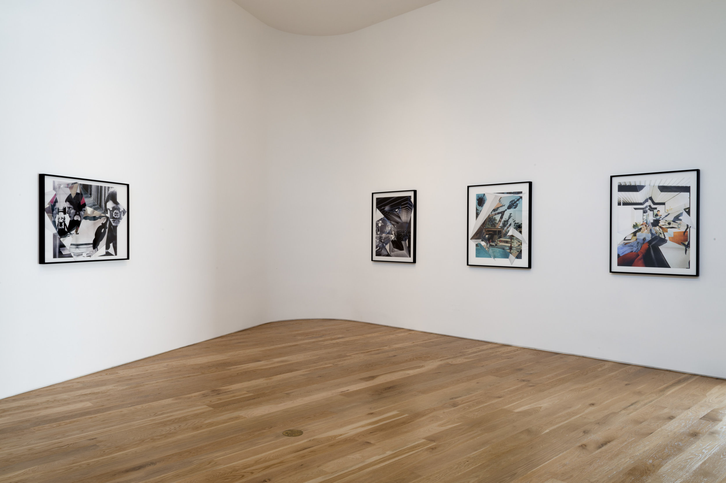 Betsy Lin Seder, Kevin Appel, Cannon Hudson, installation view, 2012.