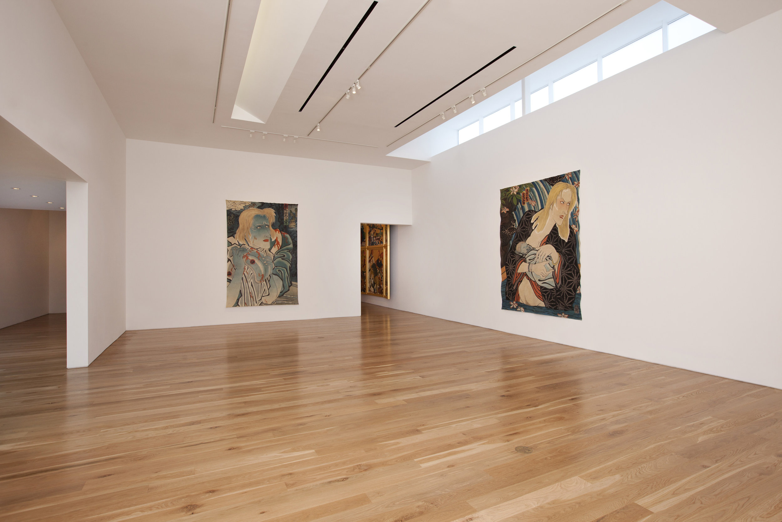 Masami Teraoka, The Cloisters Last Super, installation view, 2012.