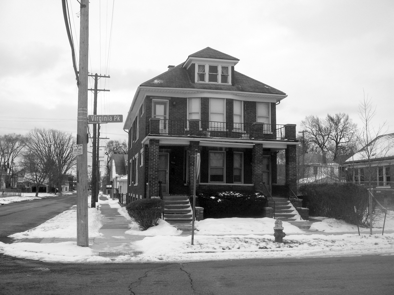 Justin Cole   Rosa Parks Residence  (2010-2017) Silver gelatin print, 10 x 8in. Ed. 3