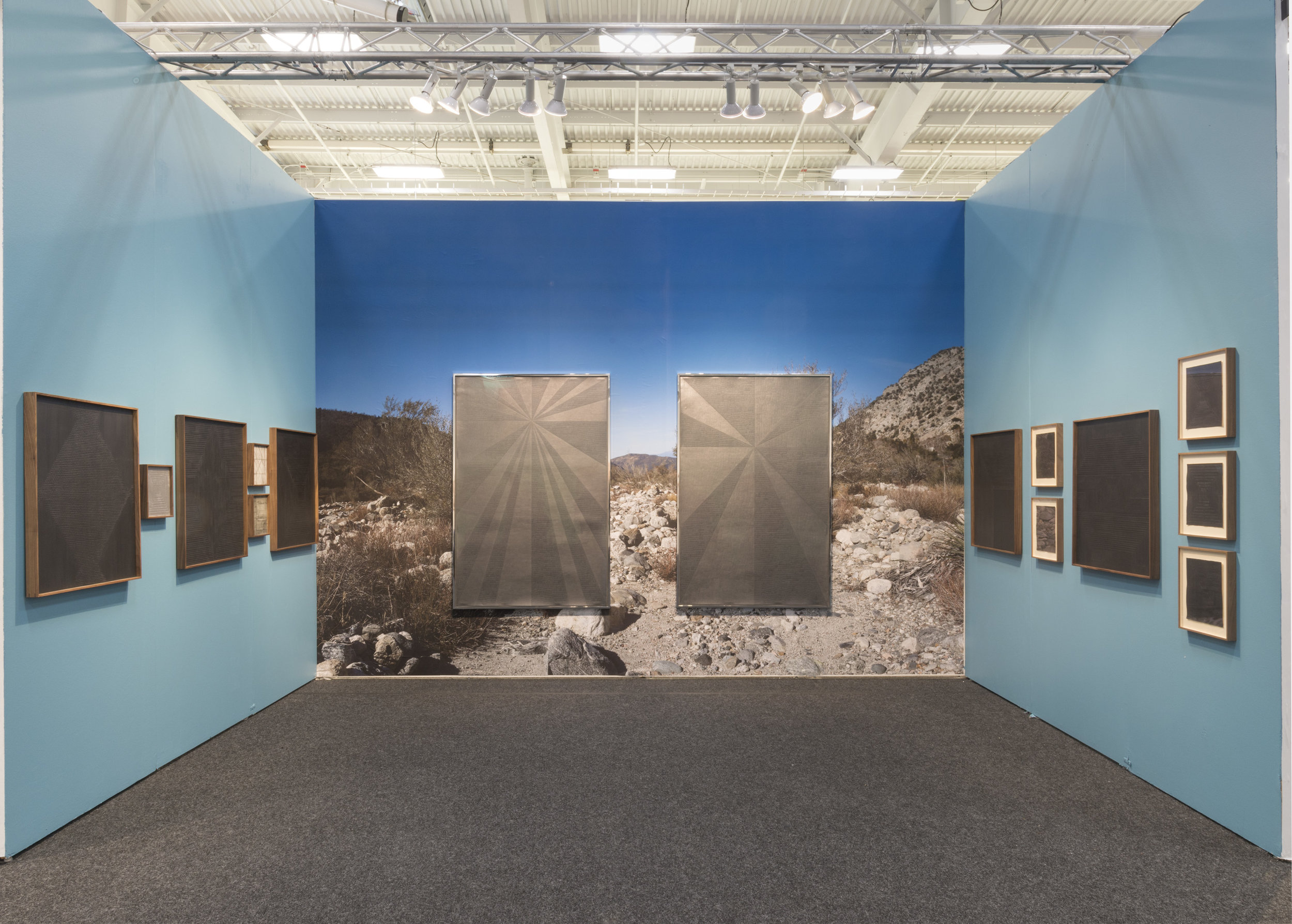 Jenene Nagy   Installation View, Art on Paper 2018