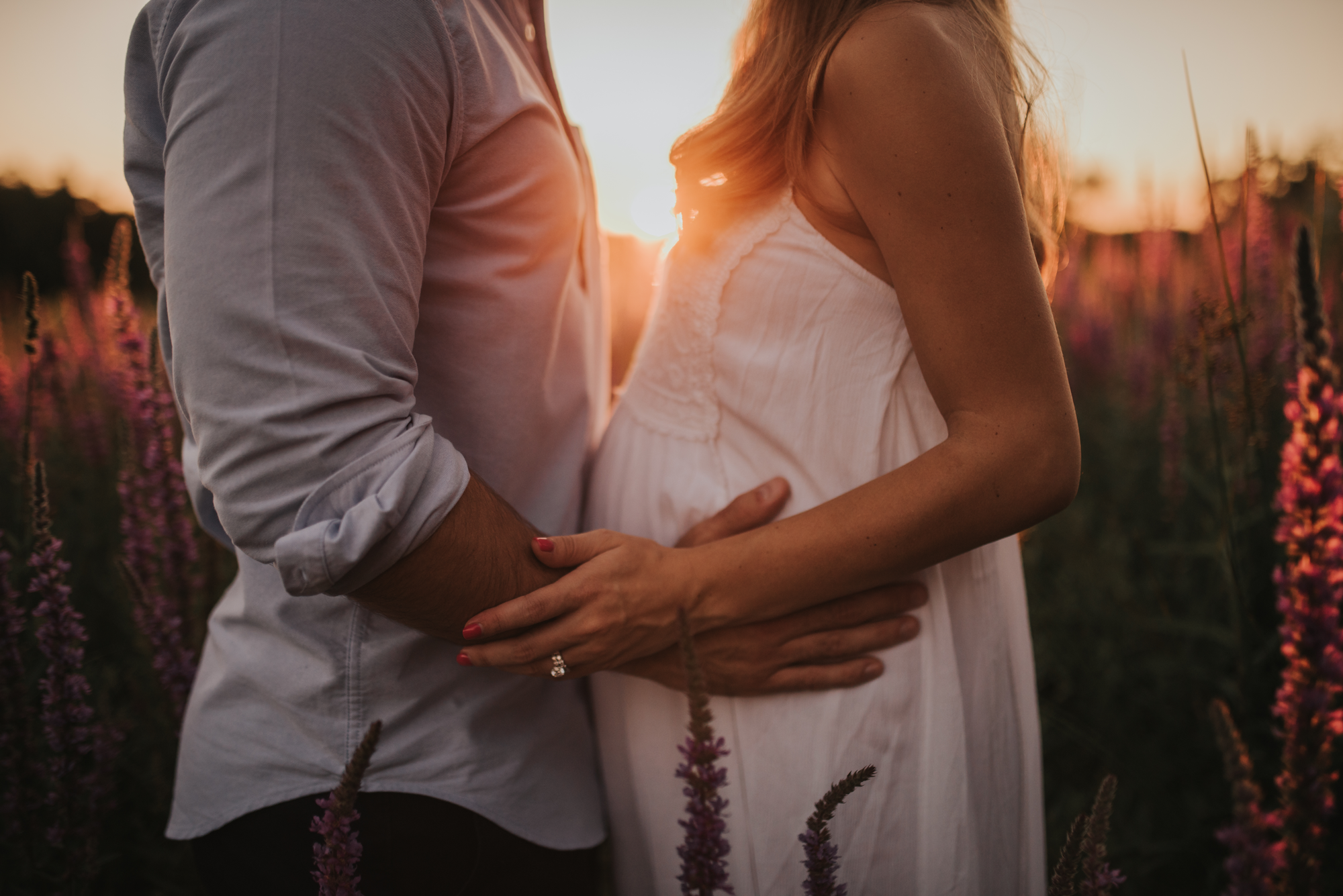 golden aura photography - the maternity experience