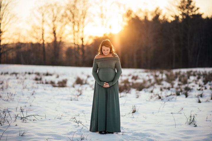 New England Award-Winning Maternity Photographer | Golden Aura Photography