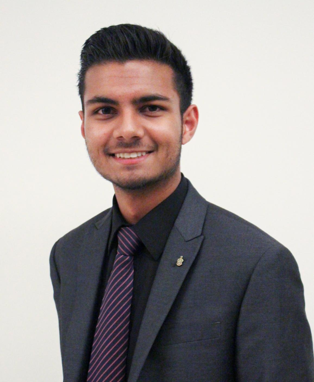 Dilan Mistry   Vice President of Alumni Relations