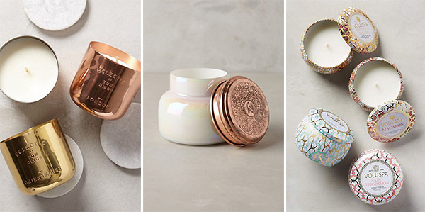 Sources: Copper Candle , Capri Candle , Print Candle