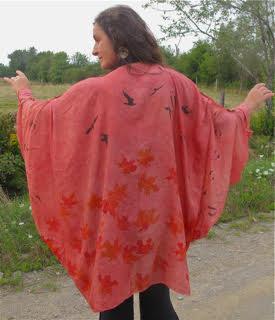 Helena Melone Painted Silks