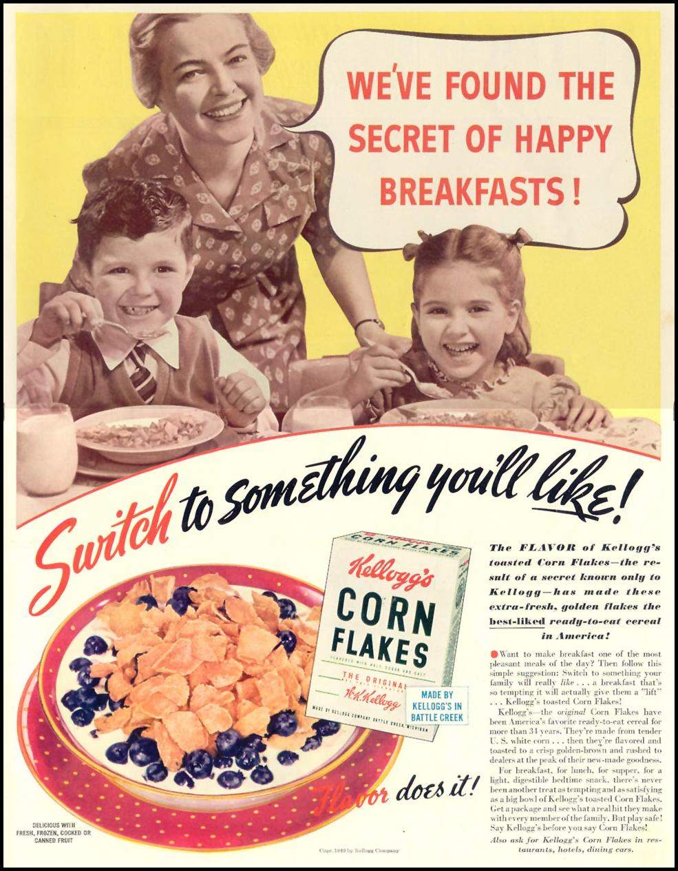 Vintage Food Brands in America