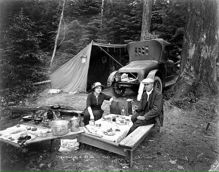 Vintage Campers at vintage cookbooks