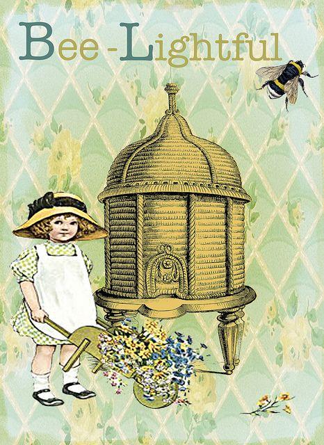 vintage bees and beehives vintage cookbooks 28.jpg