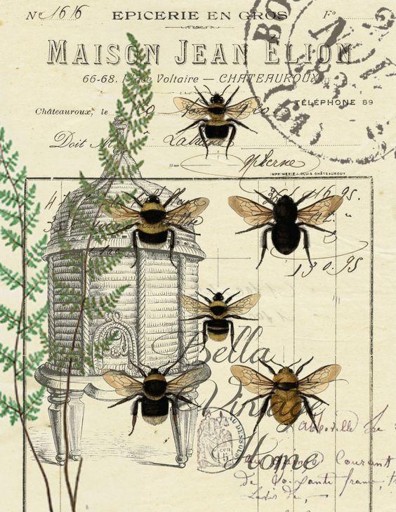 vintage bees and beehives vintage cookbooks 33.jpg