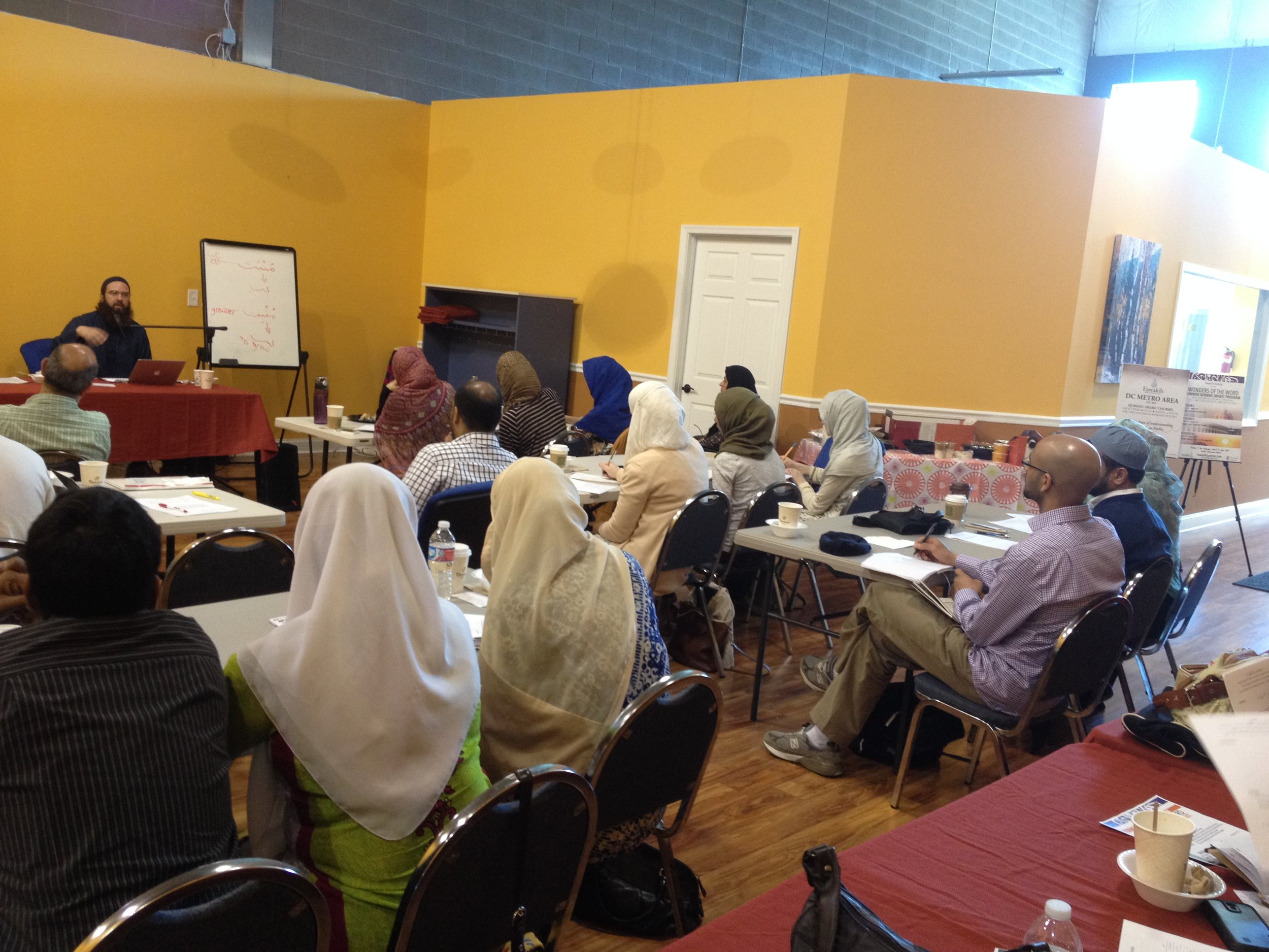 Instructor & Students (Fatiha, Nur Center, Rami).JPG