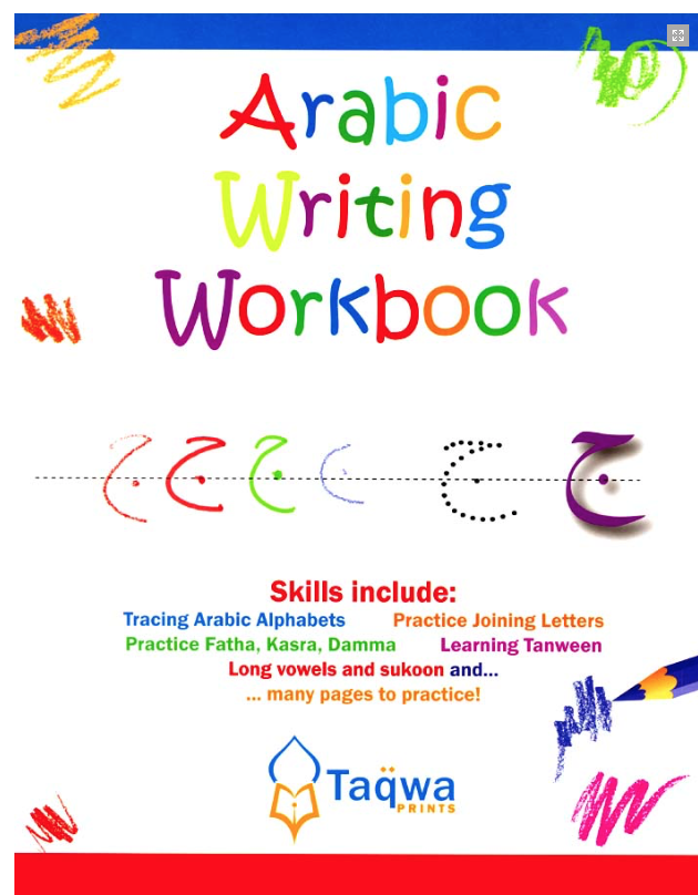 Writing Workbook now sent to you with other resources upon Level 1 registration! You improve your handwriting before live classes start. -