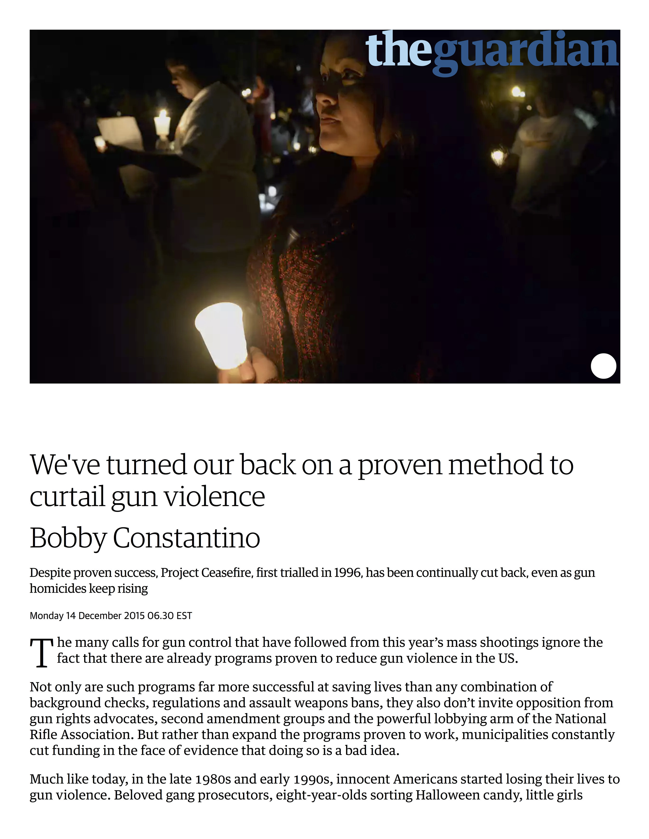 We've turned our back on a proven method to curtail gun violence _ Bobby Constantino _ Opinion _ The Guardian.jpg