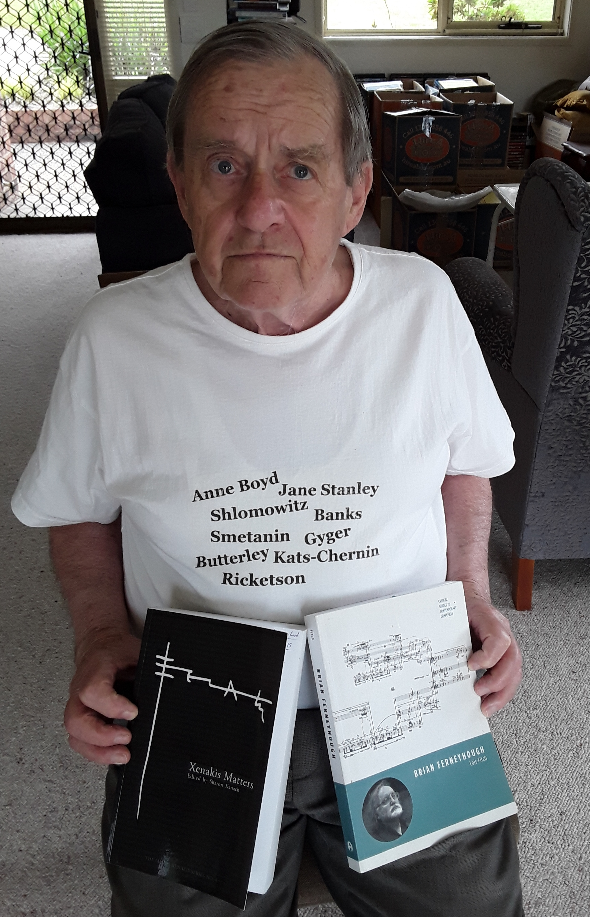 Don Macleod wears his love of new music proudly! He's a font of knowledge about the contemporary music landscape, a regular attendee of gigs, and a patron to boot. We need more like Don! -