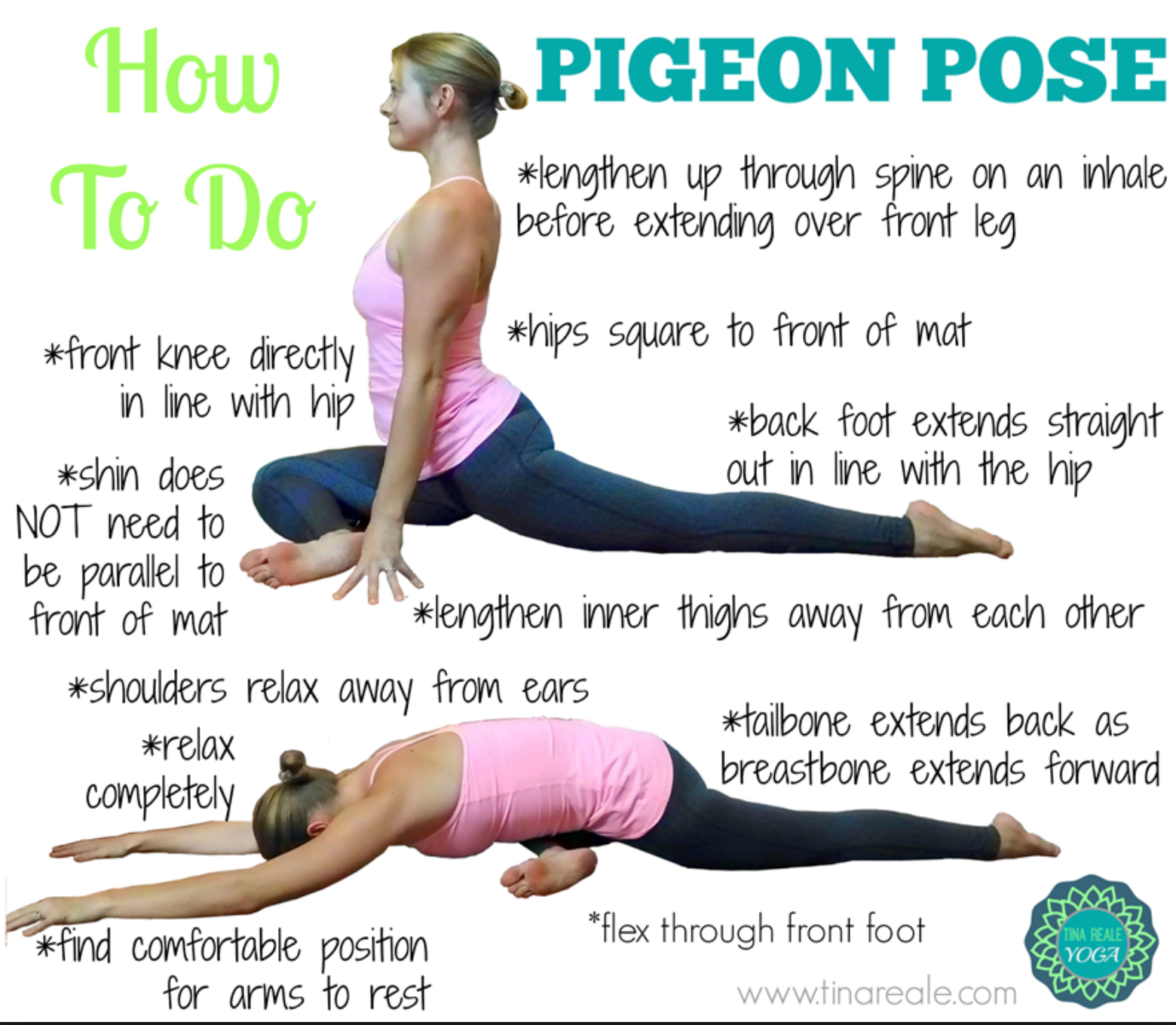 This is the best image explaining how to do this. I found it here: http://www.tinareale.com/yoga-poses/
